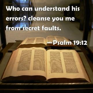 secret faults